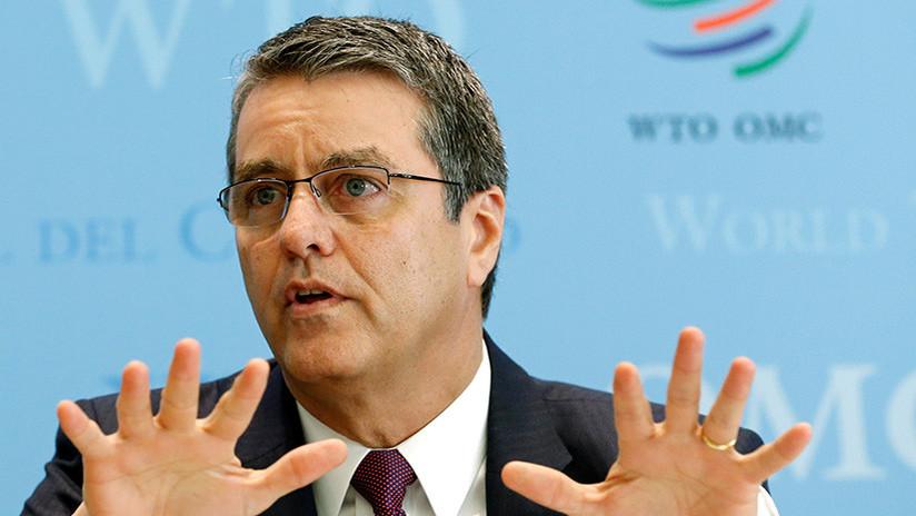 """""""Ojo por ojo"""": La OMC alerta sobre el riesgo de una guerra comercial tras los anuncios de Trump"""