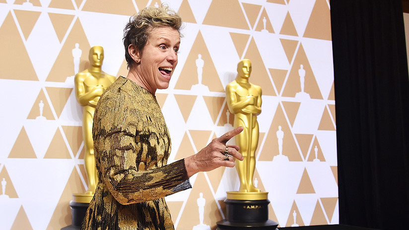 Gana el Óscar y se lo roban: Frances McDormand se quedó sin premio en una fiesta de gala