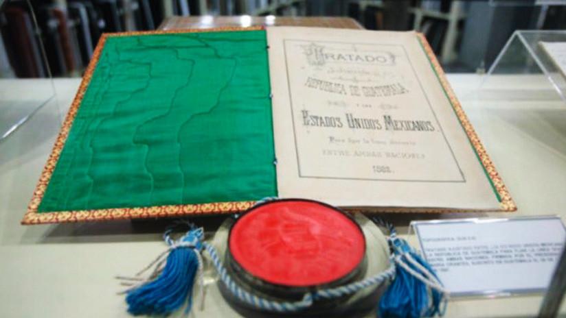 """Unesco declara """"Memoria del mundo"""" tratados internacionales de México"""