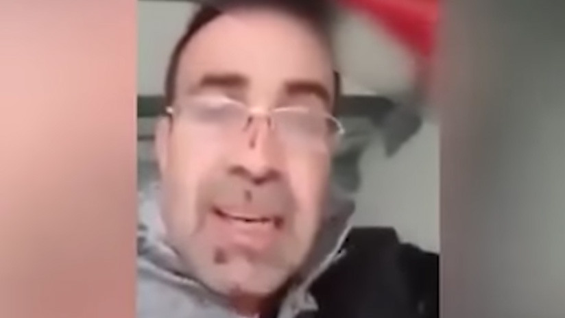 FUERTE VIDEO: Un refugiado sirio confiesa el asesinato de su esposa instantes después de matarla