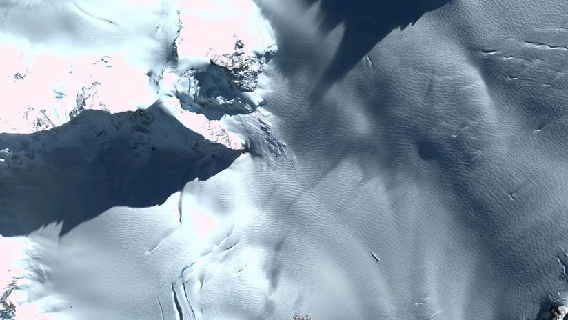 Resuelven el misterio de la 'nave espacial' encontrada en la Antártida gracias a Google Maps