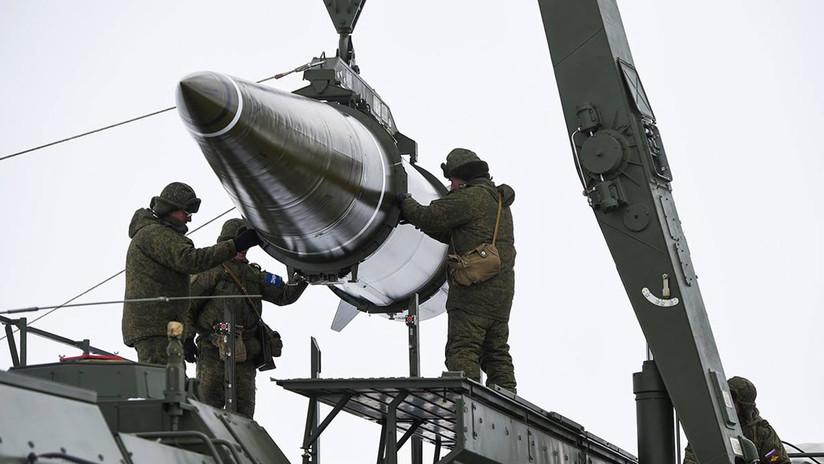 Etapas de lanzamiento de una pesadilla de la OTAN llamada 'Iskander'