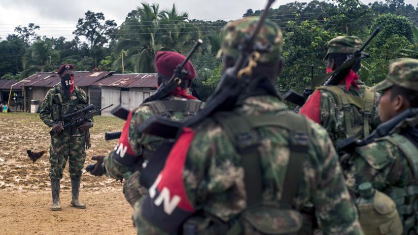 Diez miembros del ELN mueren en un bombardeo del Ejército de Colombia