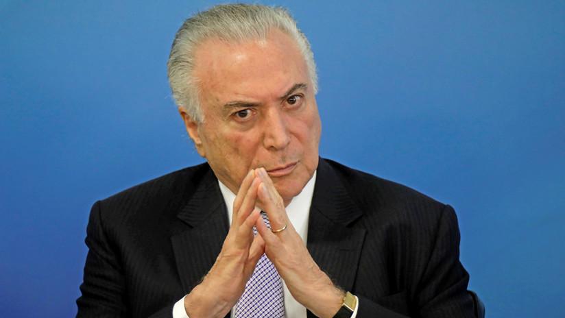 La Justicia brasileña ordena levantar el secreto bancario de Michel Temer