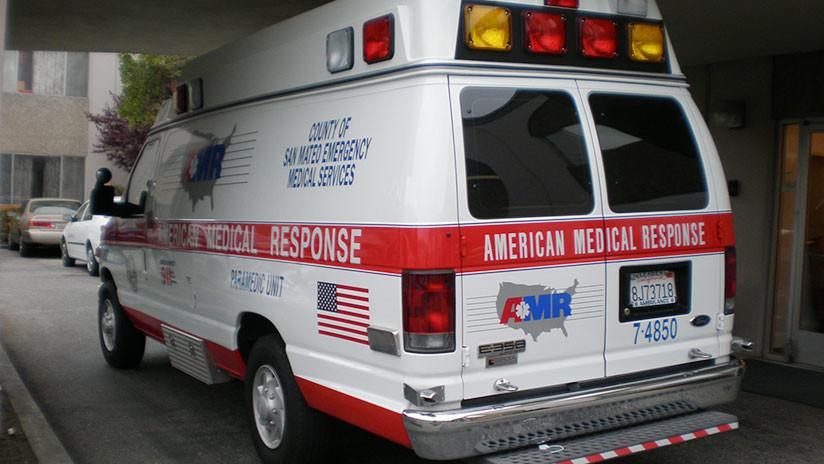 EE.UU.: Un tren choca contra un camión cargado con ácido clorhídrico (FOTOS)