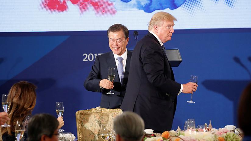 Se le 'chispoteó': Trump afirma que habló con Corea del Norte cuando en realidad era Corea del Sur
