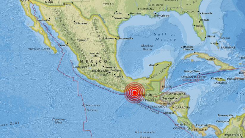 México: Un sismo de magnitud 4,9 se registra en Chiapas