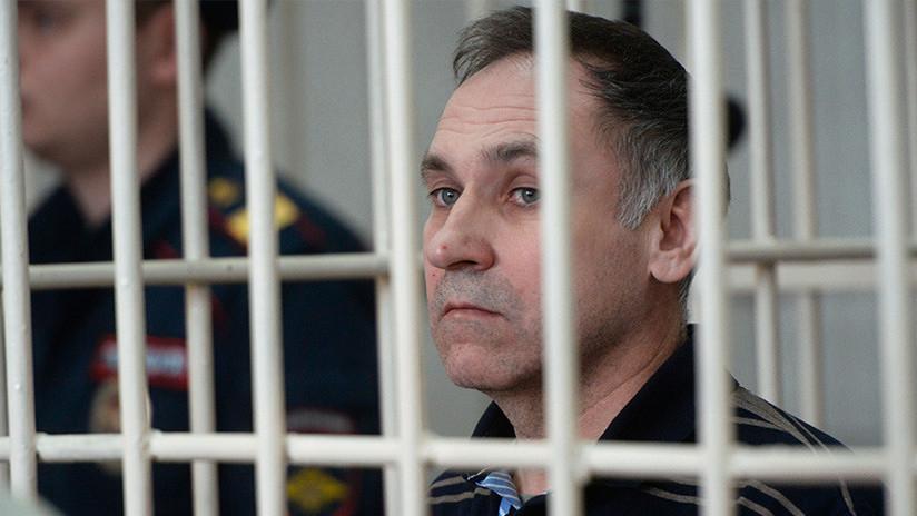 Condenan a cadena perpetua a un expolicía ruso que mató a 19 prostitutas