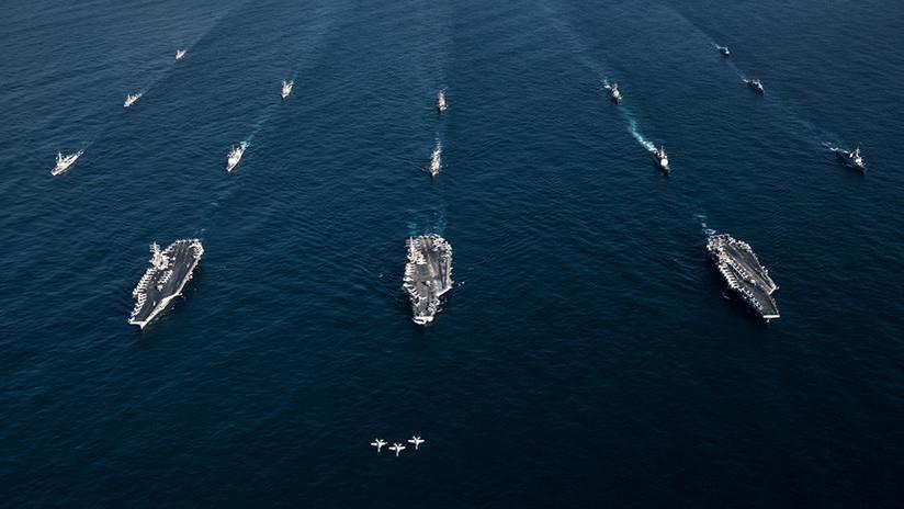 """Las armas hipersónicas de China """"mantienen bajo amenaza"""" los portaviones de EE.UU."""