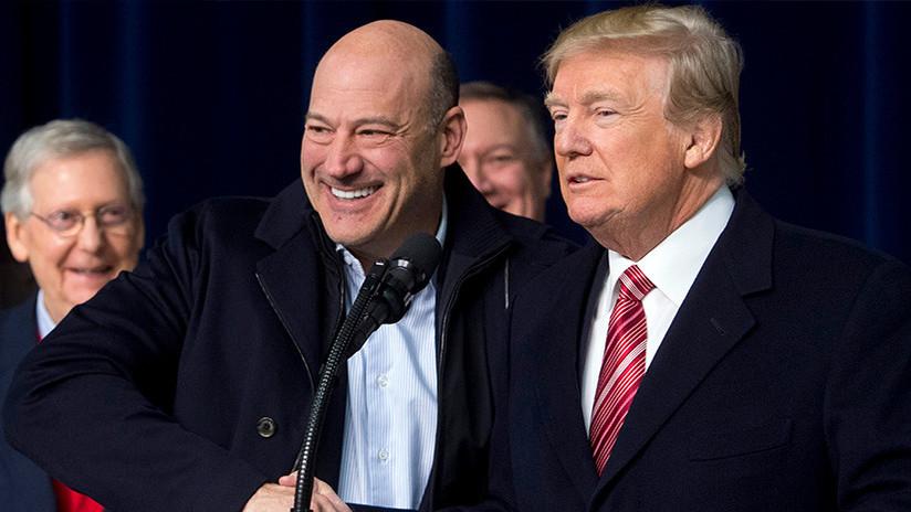 Wall Street se desploma tras la renuncia del principal asesor económico de Trump