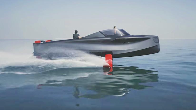FOTOS, VIDEO: Conozca el 'superyate volador' que costará un millón de dólares