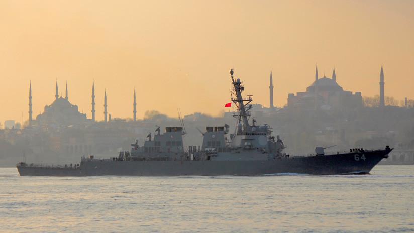 EE.UU. prueba sistemas de guerra electrónica contra medios rusos en el mar Negro