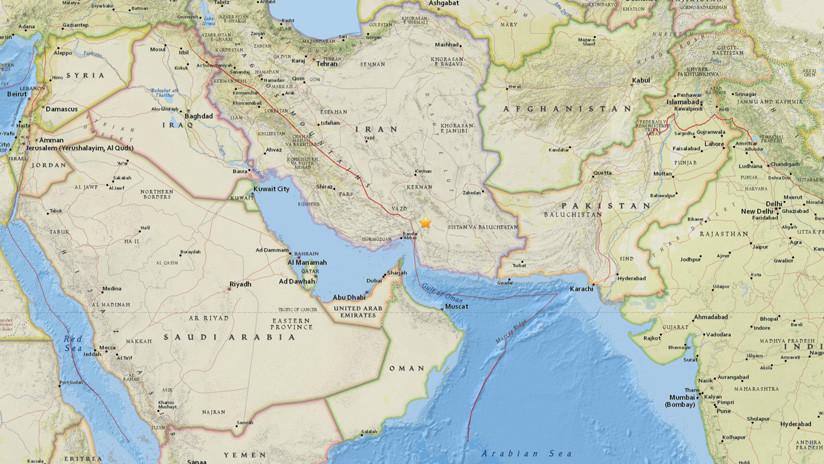Se registra un terremoto de magnitud 5,4 en Irán