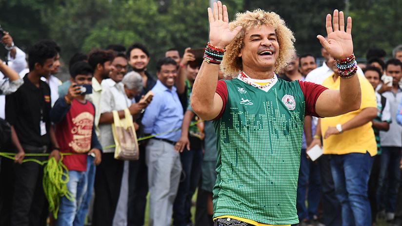 """Valderrama en exclusiva a RT: """"Si Colombia gana el Mundial, me raparé el pelo"""""""
