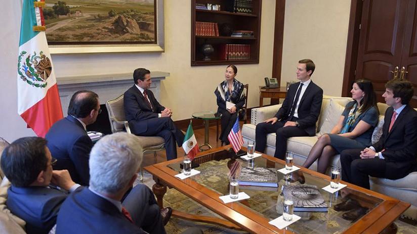 El yerno de Trump dejó a la embajadora de EE.UU. en México sin reunión con Peña Nieto