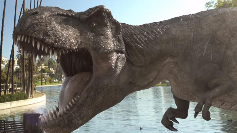 Bienvenido a un insólito 'Jurassic Park': Pronto los dinosaurios se colarán en tu móvil (VIDEO)