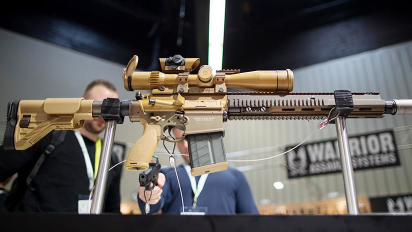 Francotiradores de EE.UU. utilizarán un nuevo rifle capaz de penetrar las armaduras enemigas