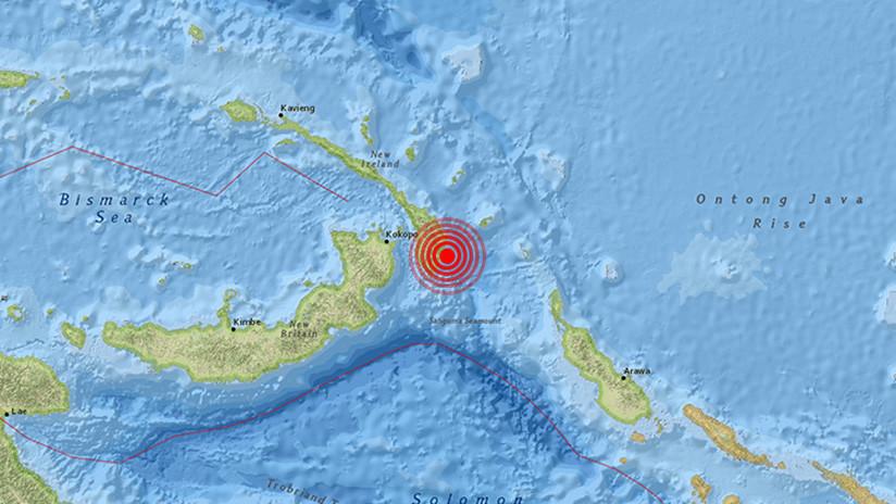 Un sismo de magnitud 6,8 sacude Papúa-Nueva Guinea