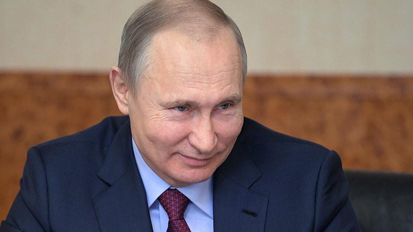 Putin confiesa en qué le mintió a Melania Trump