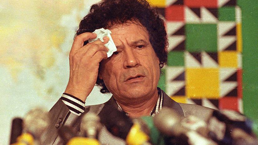 Desaparecen miles de millones de euros de las cuentas congeladas del difunto Gaddafi