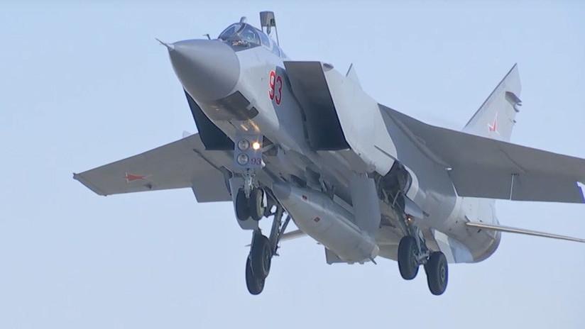 Rusia realiza una prueba exitosa de un misil hipersónico del sistema 'Kinzhal&#039