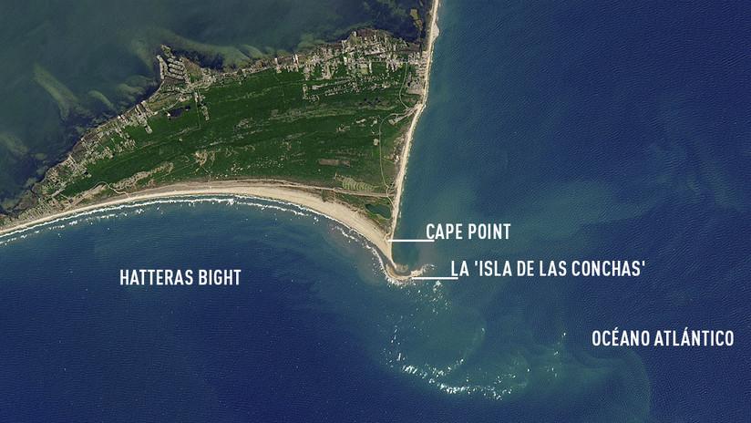 FOTOS: Desaparece la isla formada misteriosamente frente a la costa de EE.UU.