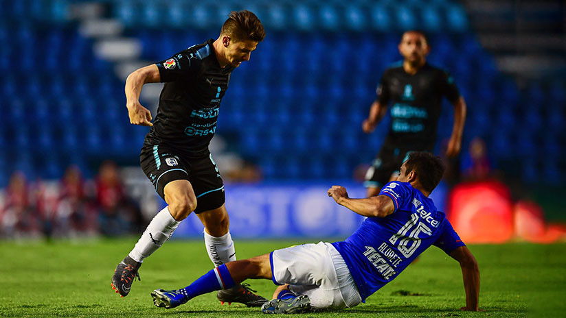 VIDEO: Un futbolista brasileño marca un espectacular gol de chilena en la liga mexicana