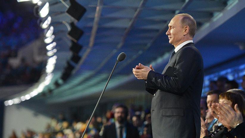Putin revela que ordenó derribar un avión secuestrado por 'suicidas' que volaba rumbo a Sochi 2014