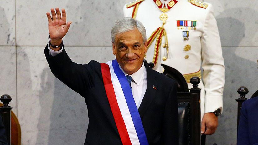 VIDEO: Piñera protagoniza un incómodo momento en su toma de posesión