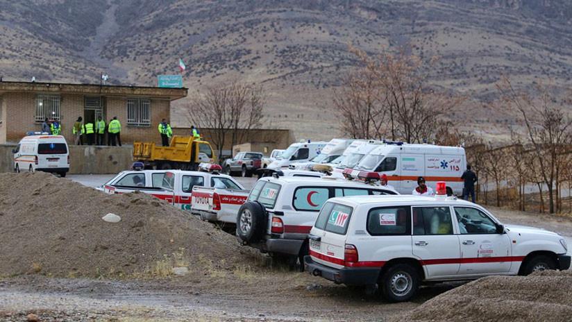 Al menos 11 muertos al estrellarse un avión privado turco al suroeste de Irán