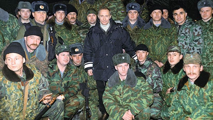 Putin relata que su helicóptero estuvo bajo fuego en Chechenia