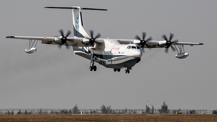 FOTOS: Revelan cuándo el mayor avión anfibio del mundo despegará desde el agua