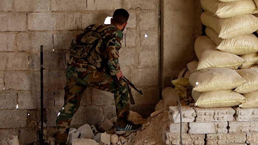 El Ejército sirio encuentra un laboratorio de armas químicas rebelde en Guta Oriental