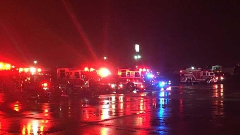 Un avión aterriza de emergencia en EE.UU. con humo en la cabina (FOTOS, VIDEO)