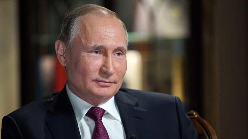 """Putin a la BBC sobre el caso Skripal: """"Arreglen sus cosas primero y después lo discutiremos"""""""