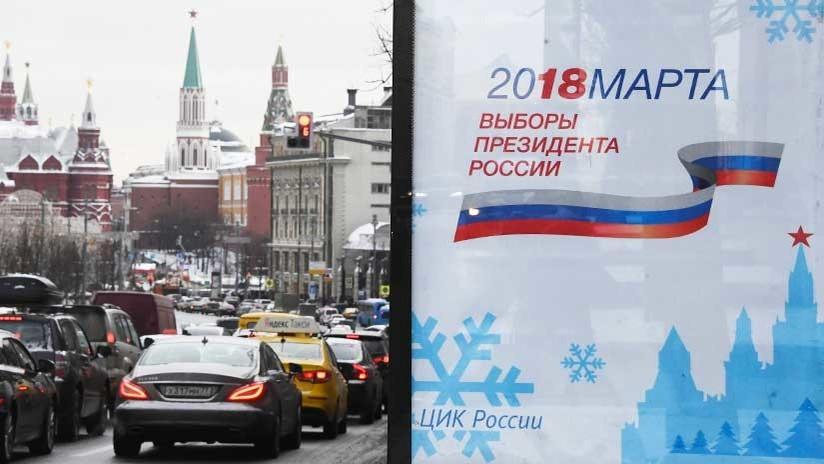 Elecciones presidenciales de Rusia 2018