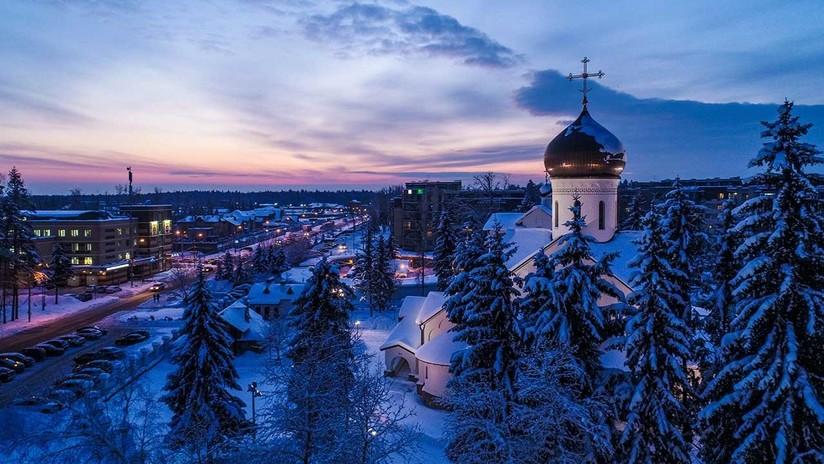 Moscú celebra su centenario como capital de Rusia