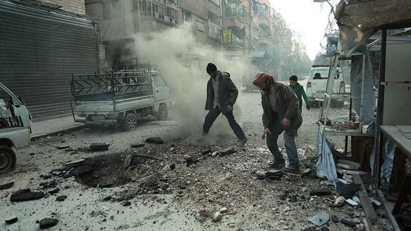 Rusia acusa ante la ONU a los terroristas de Al Nusra de usar cloro en Guta Oriental