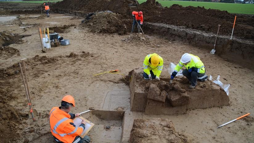 Un misterioso cementerio de la élite romana del siglo II sorprende a arqueólogos neerlandeses