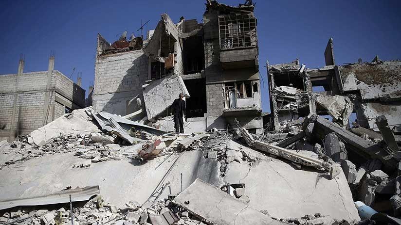 Rusia: EE.UU. planea culpar a las tropas gubernamentales sirias de ataques químicos