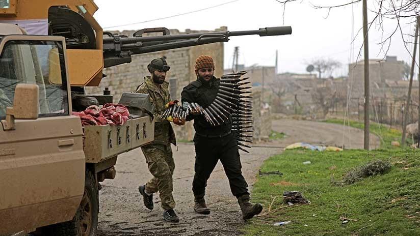 Fuerzas turcas controlan 9 pueblos y se acercan a Afrín