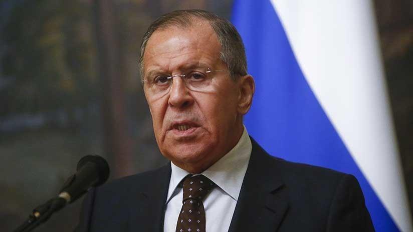 """Lavrov: """"No tengo palabras adecuadas para describir las amenazas de EE.UU. de atacar a Siria"""""""