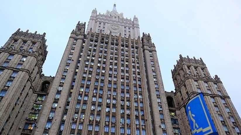 La Cancillería rusa convoca al embajador británico en Moscú