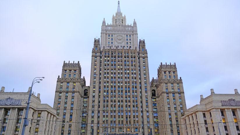 """Moscú: """"Cualquier amenaza de sanciones contra Rusia por el caso de Skripal no quedará sin respuesta"""""""