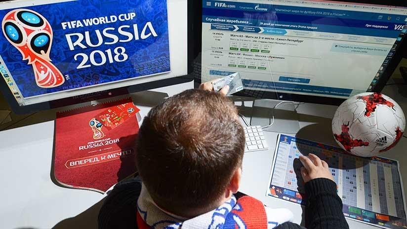 La FIFA ya vendió más de 1,3 millones de entradas para Rusia 2018