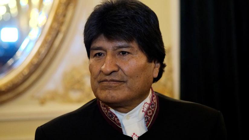 """Evo Morales se reunirá con empresarios en España para """"quejarse"""" por obras abandonadas en Bolivia"""