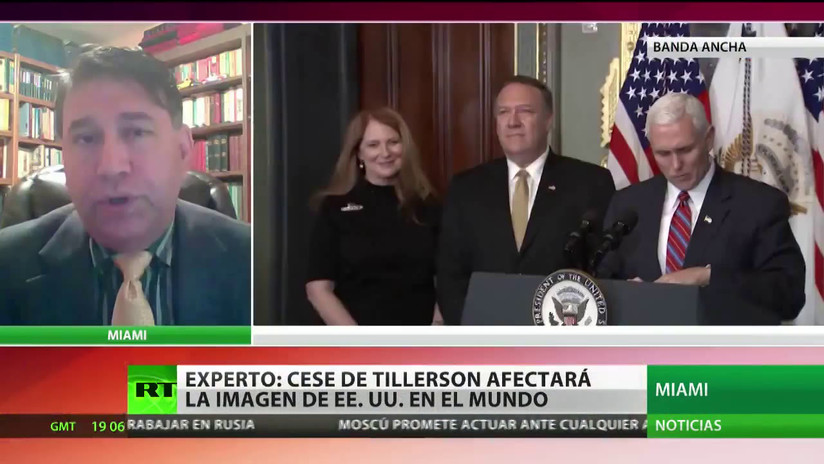 """La destitución de Tillerson va a debilitar la diplomacia estadounidense"""