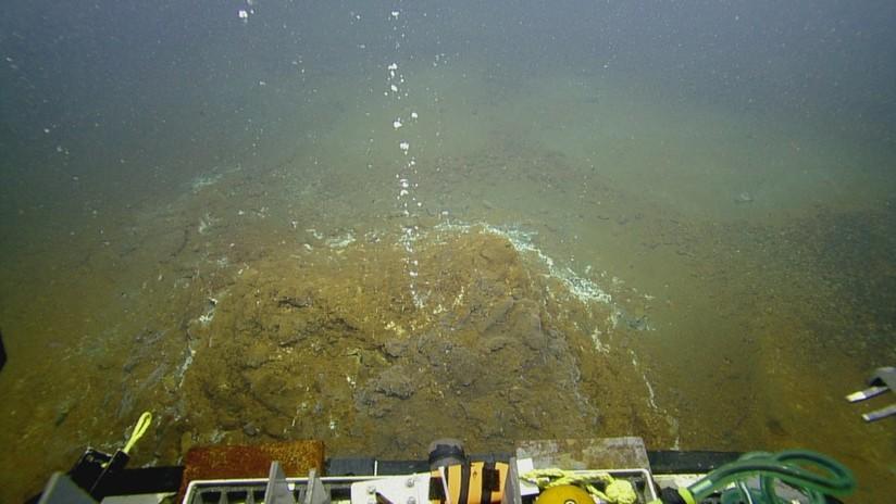 Alerta naranja en el Caribe ante posible erupción de un volcán submarino