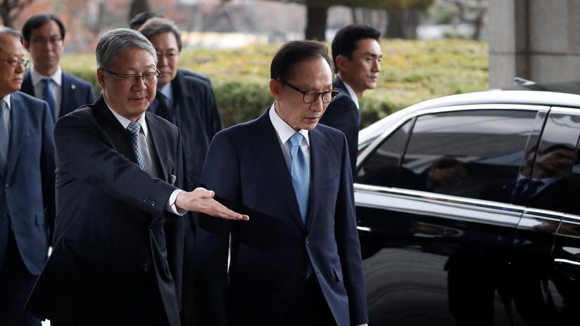 Acusan de corrupción a Lee Myung-bak, expresidente de Corea del Sur