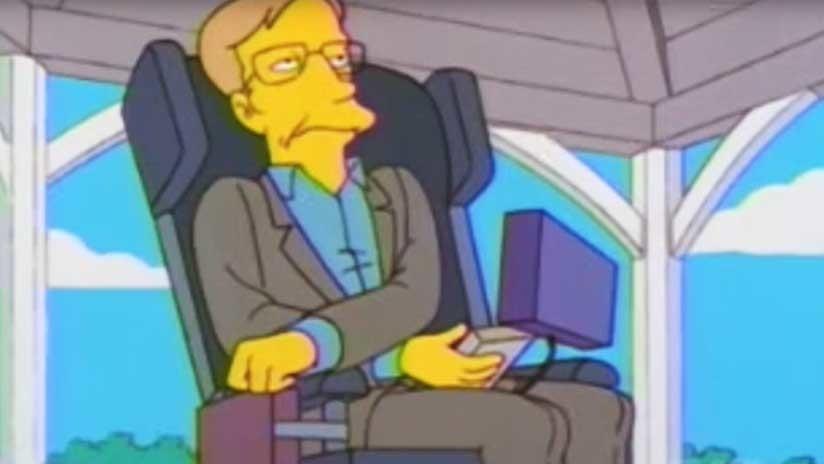 De Los Simpson a Pink Floyd: La figura de Stephen Hawking en la cultura popular